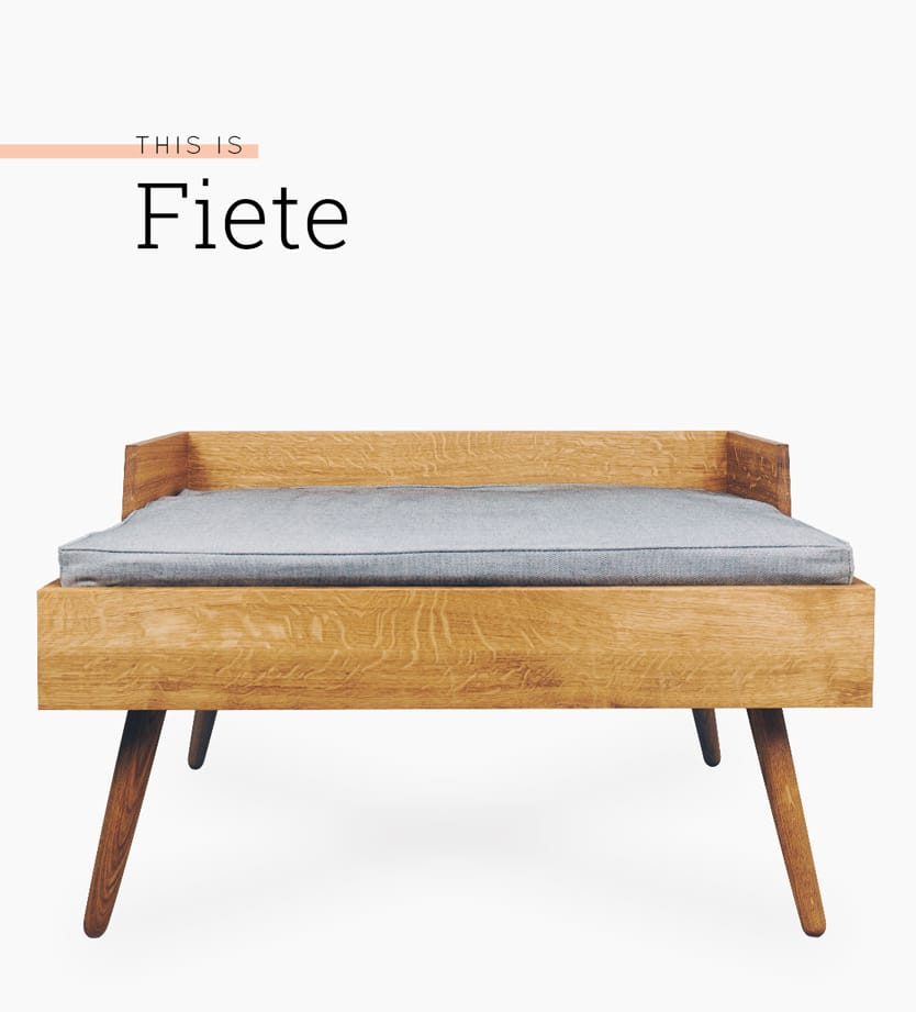 dog bed Fiete
