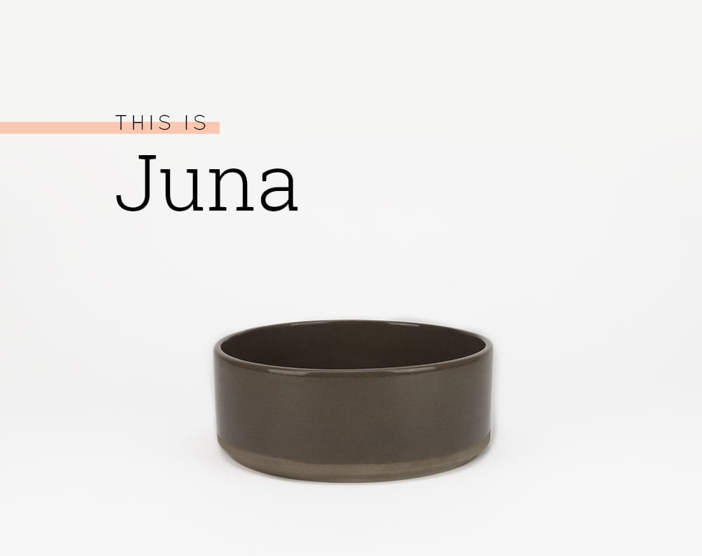 dog bowl Juna